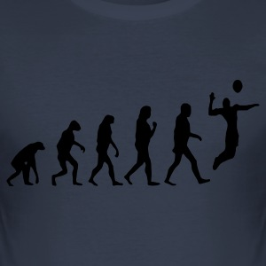 Volleyball - the evolution of - Herre Slim Fit T-Shirt