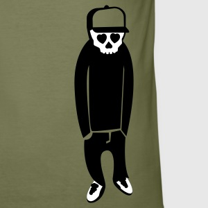 Olive emo T-Shirt - Männer Slim Fit T-Shirt
