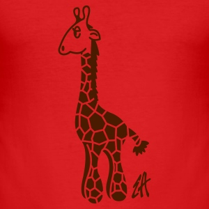 Rocky giraffe - Men's Slim Fit T-Shirt