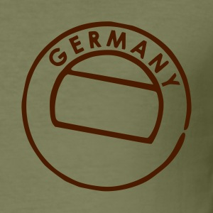 Camel Germany Postmark Men's Tees (short-sleeved) - Men's Slim Fit T-Shirt