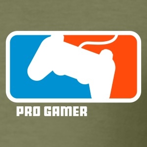 Braun pro gamer T-Shirt - Männer Slim Fit T-Shirt