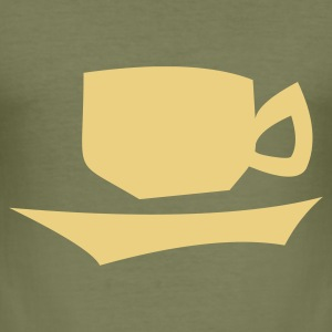 Koffie - slim fit T-shirt