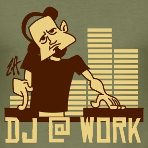 DJ - Herre Slim Fit T-Shirt