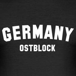 :: OSTBLOCK :. - Männer Slim Fit T-Shirt