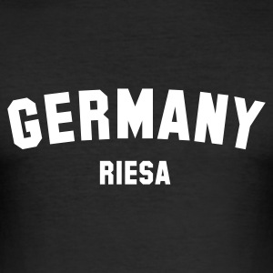 RIESA - Männer Slim Fit T-Shirt