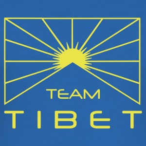 Team Tibet - Männer Slim Fit T-Shirt
