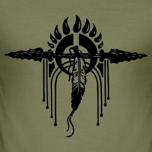 Indian spirit - Männer Slim Fit T-Shirt