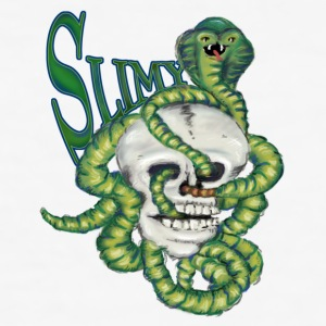 Slimy, the Cobra - Männer Slim Fit T-Shirt