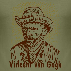 Camel Vincent van Gogh T-Shirt - Männer Slim Fit T-Shirt