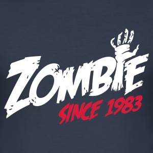 Zombie since 1983 T-shirts - slim fit T-shirt