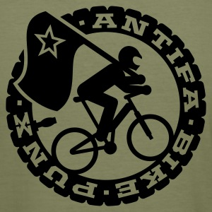 Camel Antifa Bike Punks T-Shirts - Männer Slim Fit T-Shirt