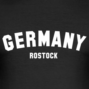 :: ROSTOCK :: - Männer Slim Fit T-Shirt