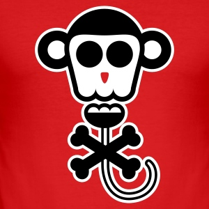 Funny Faces Monkey T-shirts - slim fit T-shirt