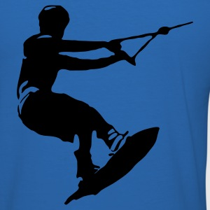 Wakeboarder - Männer Slim Fit T-Shirt