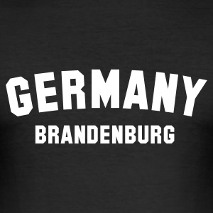 germany_brandenburg - Männer Slim Fit T-Shirt