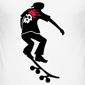 Skateboarder - Männer Slim Fit T-Shirt