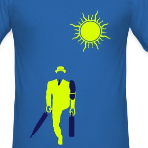 Funny walk - Men's Slim Fit T-Shirt