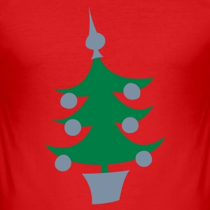 X-mas tree - slim fit T-shirt