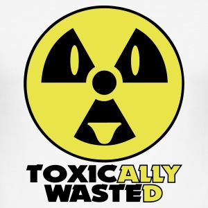 Wit toxically wasted T-shirts - slim fit T-shirt