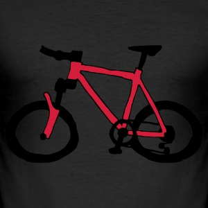 Mountainbike - Men's Slim Fit T-Shirt