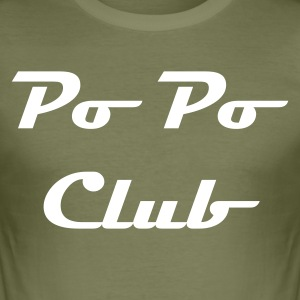 PoPo Club - Boy´s  - Männer Slim Fit T-Shirt