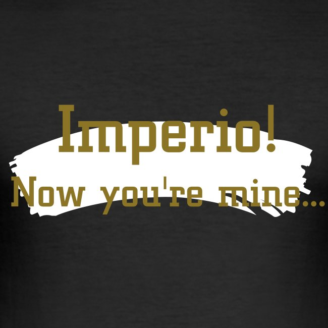 'Imperio!' Mens Slim Fit Tee WINE