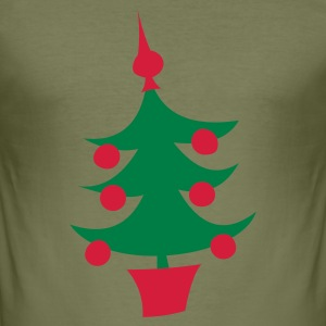kerstboom - slim fit T-shirt