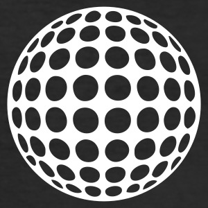 Golfball - Männer Slim Fit T-Shirt