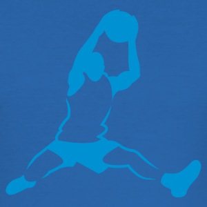 Sky blue basketballer_newstyle Men's Tees - Men's Slim Fit T-Shirt