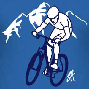 Mountainbike - slim fit T-shirt