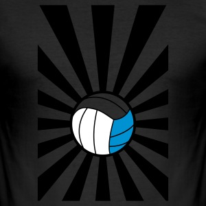 beachvolley - Slim Fit T-shirt herr