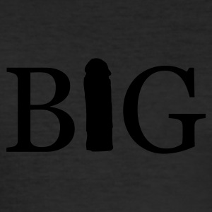 BIG  - Männer Slim Fit T-Shirt