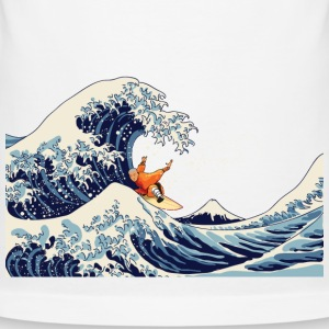 Surf the great wave - Men's Slim Fit T-Shirt