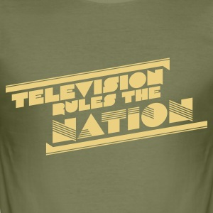 Camel television rules the nation T-Shirts - Männer Slim Fit T-Shirt