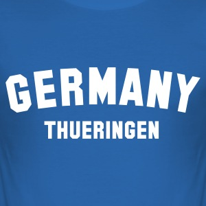 :: THUERINGEN :: - Männer Slim Fit T-Shirt