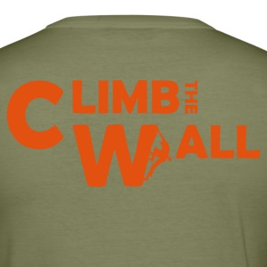 Marron Climb the Wall Flex T-shirts - Tee shirt près du corps Homme