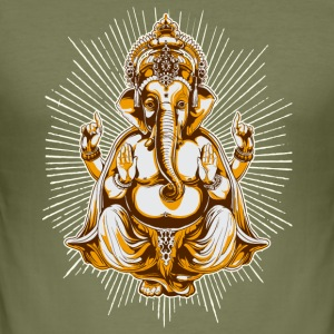 Camel shiva T-shirts - Herre Slim Fit T-Shirt