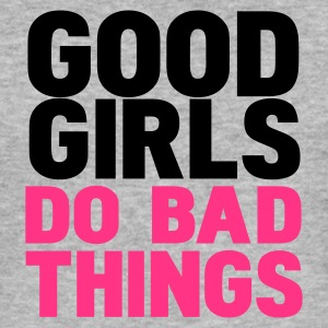 Gris chiné good girls do bad things T-shirts - Tee shirt près du corps Homme