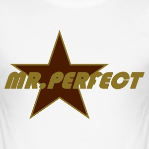 MR.Perfect - Männer Slim Fit T-Shirt