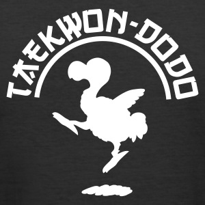 Black Taekwon-dodo Men's T-Shirts - Men's Slim Fit T-Shirt