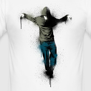 Weiß urban messiah T-Shirts - Männer Slim Fit T-Shirt