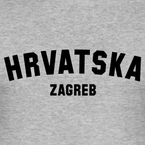 hrvatska_zagreb_for_men - Männer Slim Fit T-Shirt