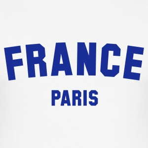 :: FRANCE PARIS :: T-shirts - Slim Fit T-shirt herr
