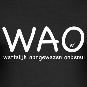 WAO-er - slim fit T-shirt