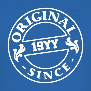 original since + your birthday - Men's Slim Fit T-Shirt
