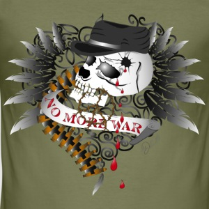 Kamel No More War T-shirts - Slim Fit T-shirt herr