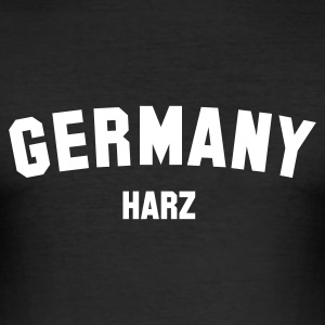 :: HARZ :: - Männer Slim Fit T-Shirt