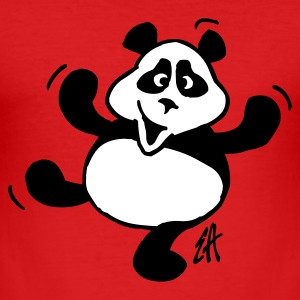 Panda - slim fit T-shirt