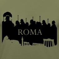 Diseño ~ Camiseta Hombre Ajustada Basis Roma