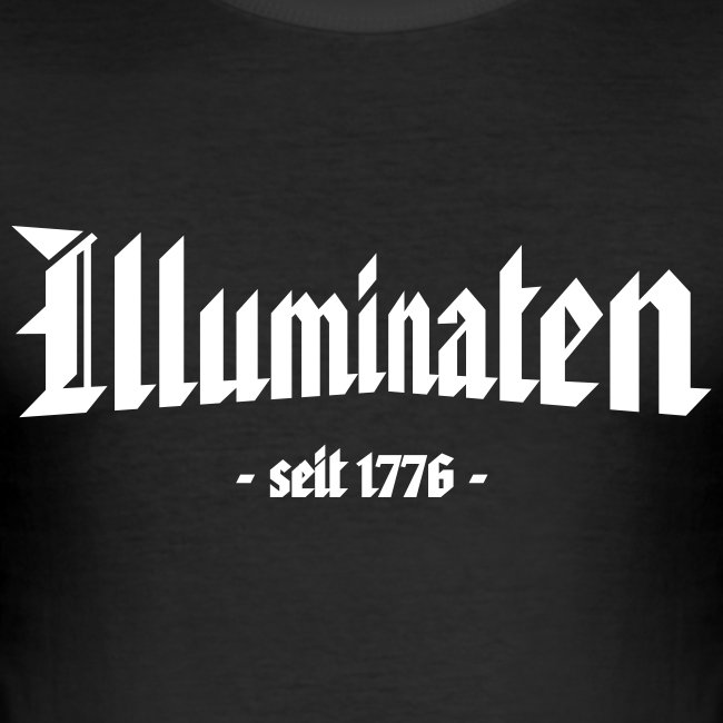 "Slim Fit T-Shirt ""Illuminaten"""